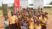Ghanaian school buildings near completion